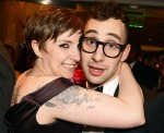 Jack Antonoff and current love, Lena Dunham