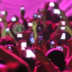 Rock show 101:Put your phone away at rock shows.