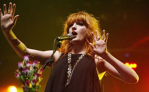 Florence, I want to kiss you, then braid your hair, then drink bourbon with you.