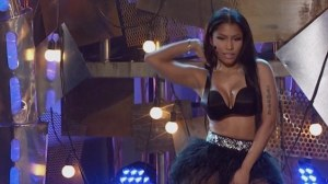 Minaj, you don't want to know where her hands have been.