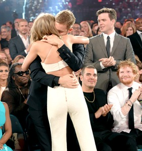 Tay's little  brother Austin has to look away, Ed Sheeran can't avert his eyes: T. Swift is in lust.