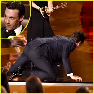 This man could crawl right into my world. Jon Hamm